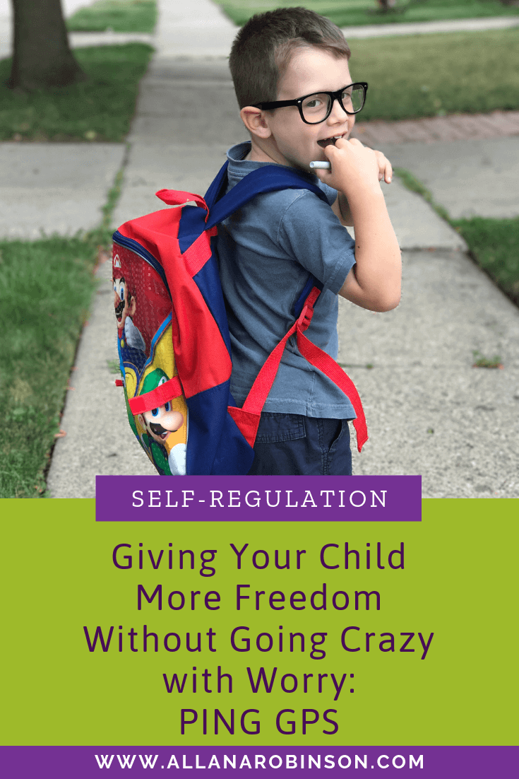 Giving your child freedom post