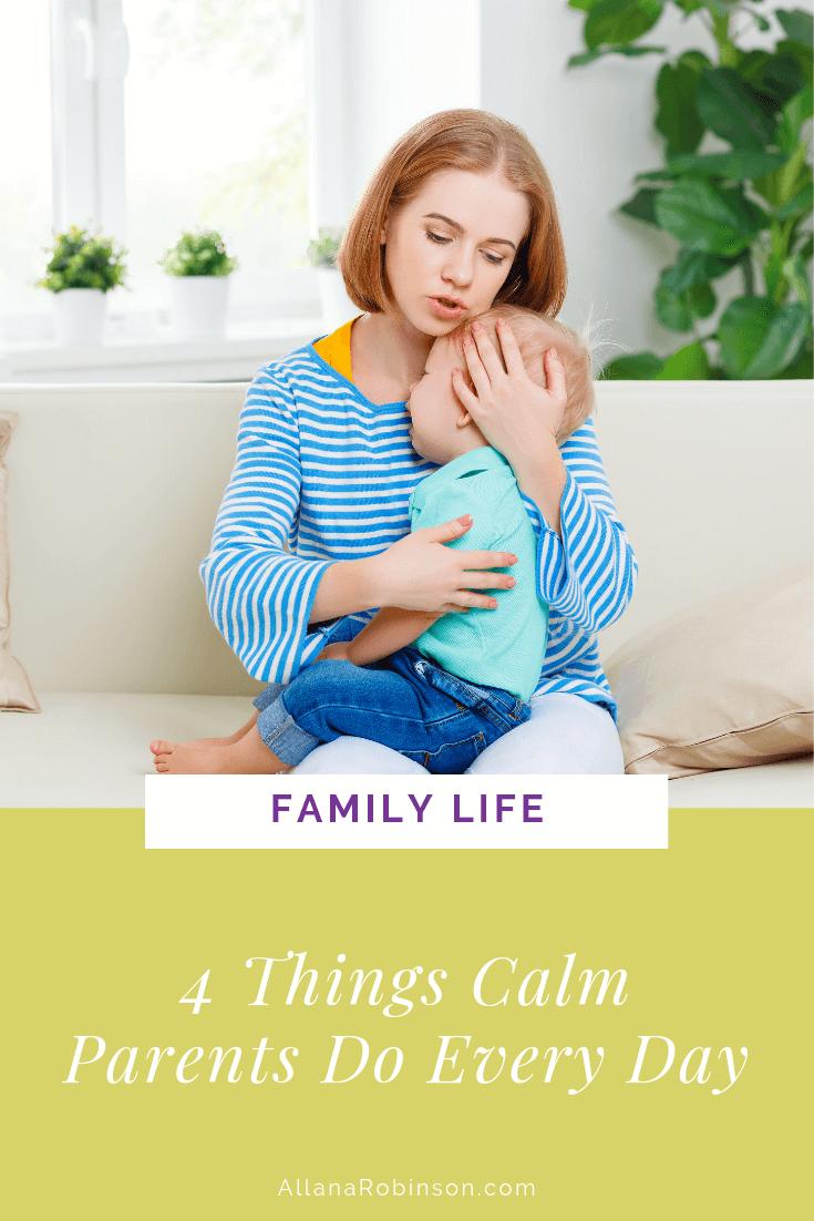 Calm Parents Blog post