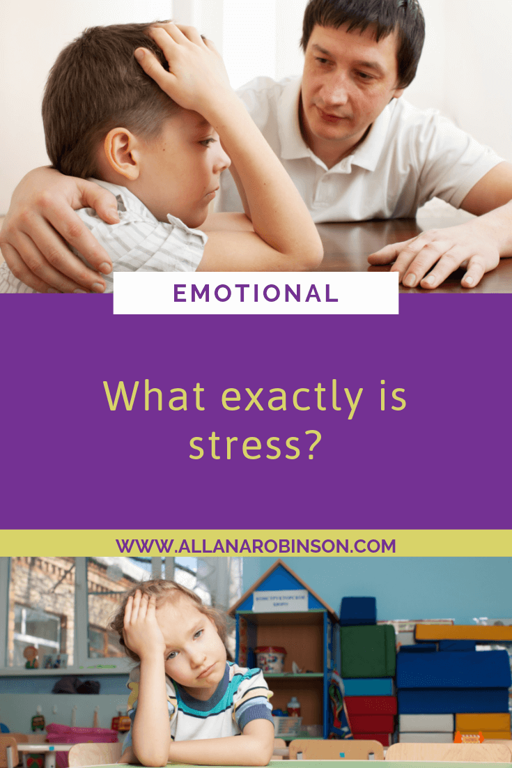 what exactly is stress blog