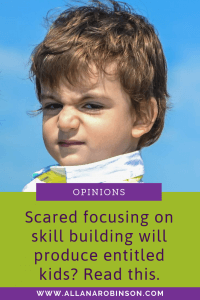 skill building or entitlement